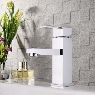 Balzo Single Hole Single Handle Bathroom Faucet