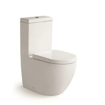 Aqua Dual Flush Round One-Piece Toilet