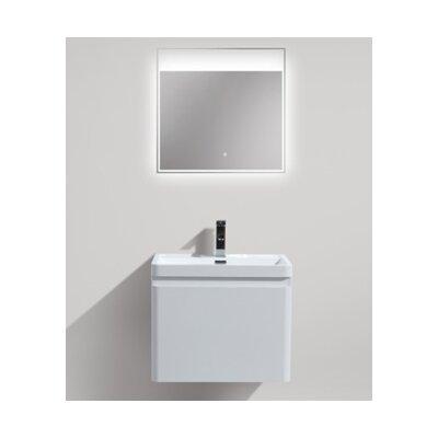 Happy 24 Single Bathroom Vanity Set Base Finish: High Gloss White