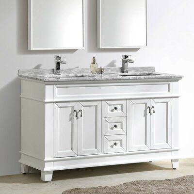 Fayer 59 Double Bathroom Vanity Set