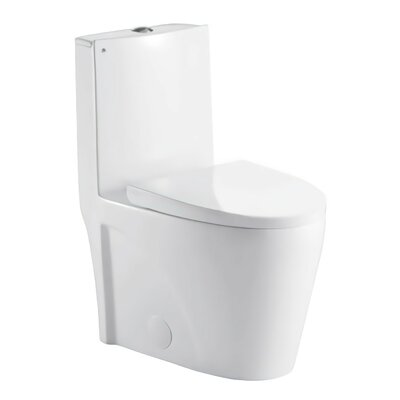 Liiso Dual Flush Elongated One-Piece Toilet
