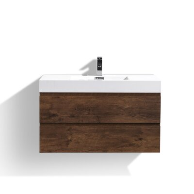 Sinope 39.25 Single Bathroom Vanity Set