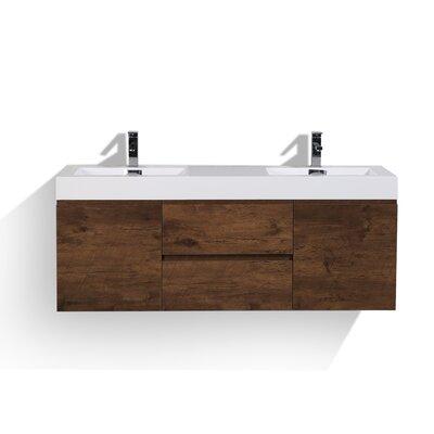 Sinope 58.75 Double Bathroom Vanity Set