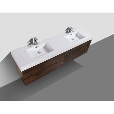 Sinope 78.75 Double Bathroom Vanity Set