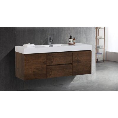 Sinope 58.75 Single Bathroom Vanity Set