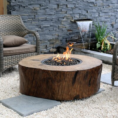 Peaktop Hr28601aa Outdoor Garden Concrete Charcoal Fire Pit