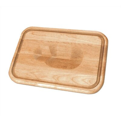 20 Versatile Meat Holding Wedge / Trench Cutting Board