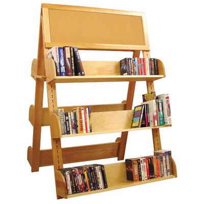 Book Carts Racks Standard Bookcase 2136 Product Photo