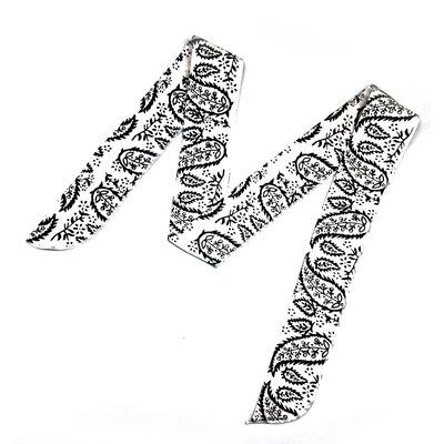 Cooling Tie Fingertip Towel Color: White