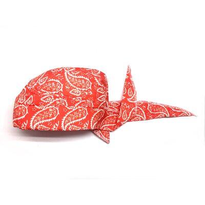 Cooling Bandana Fingertip Towel Color: Red