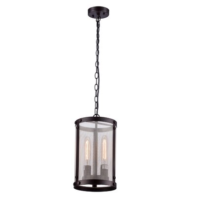 2-Light Foyer Pendant