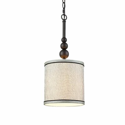Nordberg 1 Light LED Drum Pendant