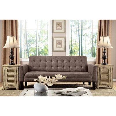 Arianna Sleeper Sofa Upholstery: Mocha