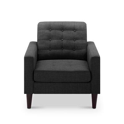 Catarina Armchair Upholstery: Charcoal