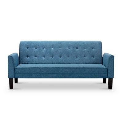 Arianna Sleeper Sofa Upholstery: Blue