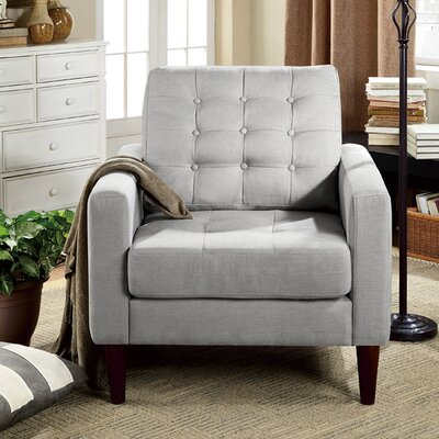 Catarina Arm Chair Upholstery: Gray