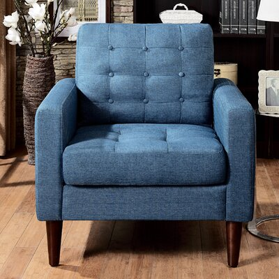 Catarina Arm Chair Upholstery: Blue