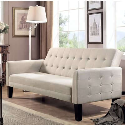 Arianna Sofa Bed Sleeper Upholstery: Beige