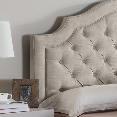 Julia Tufted Upholstered Platform Bed