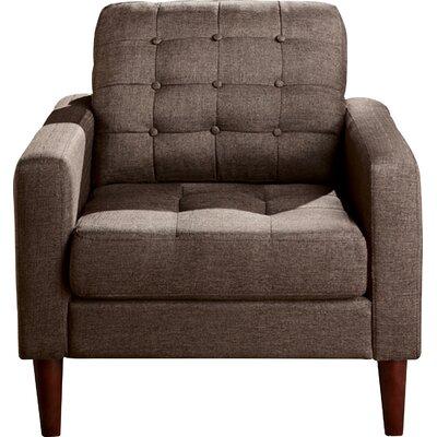 Catarina Armchair Upholstery: Mocha