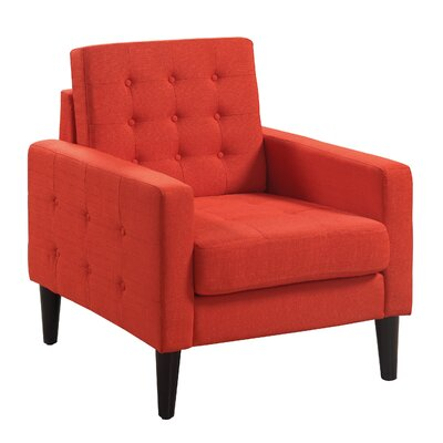 Catarina Armchair Upholstery: Orange
