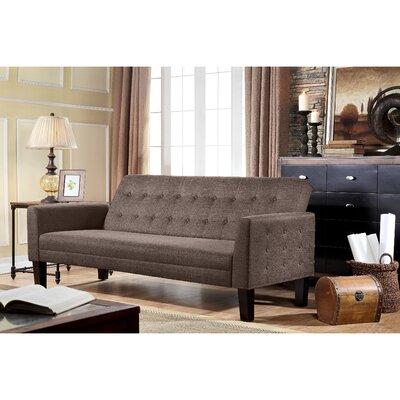 Arianna Sofa Bed Upholstery: Mocha