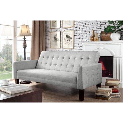 Arianna Sofa Bed Upholstery: Gray