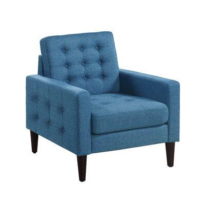 Catarina Armchair Upholstery: Blue