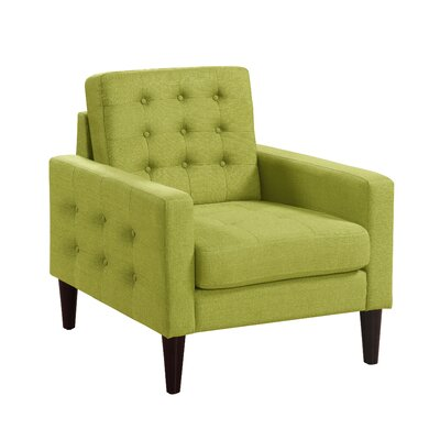Catarina Armchair Upholstery: Green