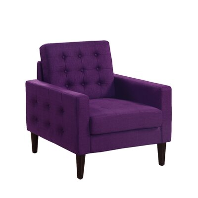 Catarina Armchair Upholstery: Violet