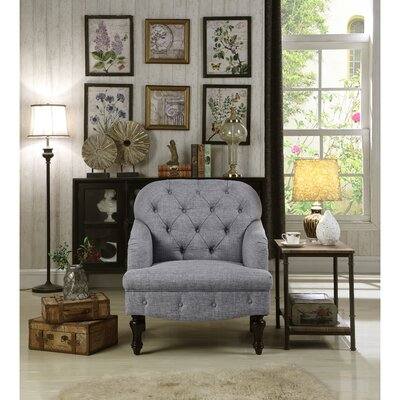 Fonzo Armchair Upholstery Color: Gray