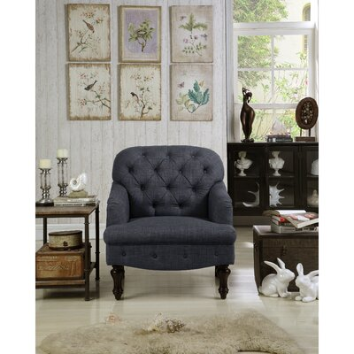 Fonzo Armchair Upholstery Color: Charcoal