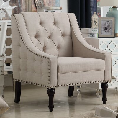 Holton Armchair Upholstery: Beige