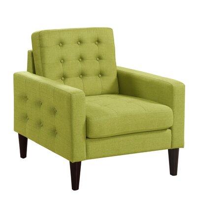 Catarina Armchair Upholstery: Green