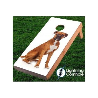 Boxer Cornhole Board Wrap wrapanimals003
