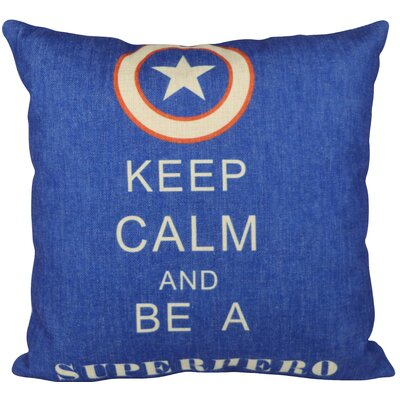 Super Hero  Throw Pillow