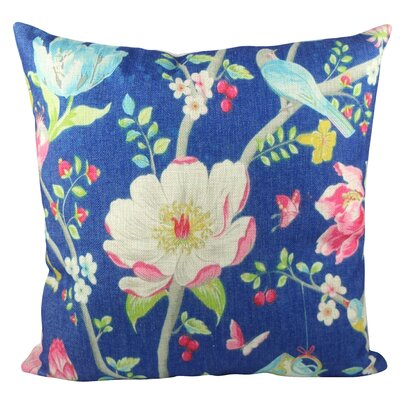 Cups and Flower  Throw Pillow