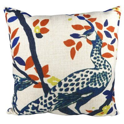 Nature Animal Peacock  Throw Pillow