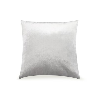 Pittenger Soft Luxury Velvet Throw Pillow Color: Silver