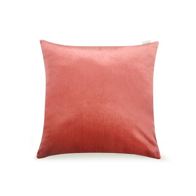 Pittenger Soft Luxury Velvet Throw Pillow Color: Blush