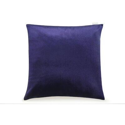 Pittenger Soft Luxury Velvet Throw Pillow Color: Navy