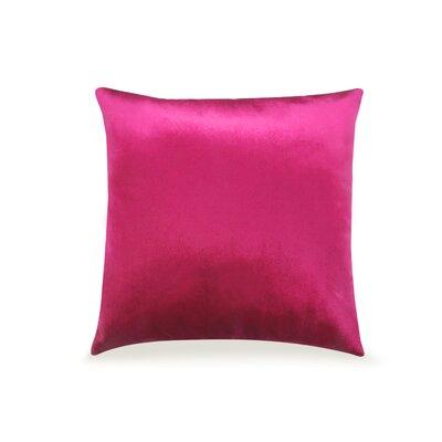 Pittenger Soft Luxury Velvet Throw Pillow Color: Pink