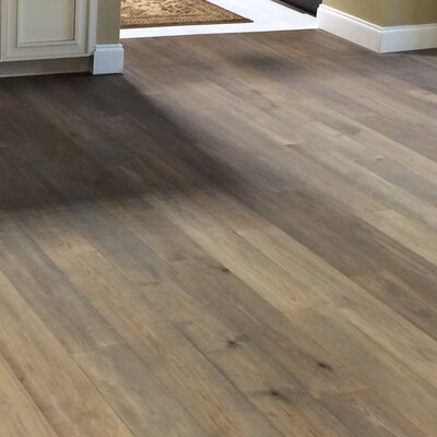 6.25 Engineered Oak Hardwood Flooring in Argento