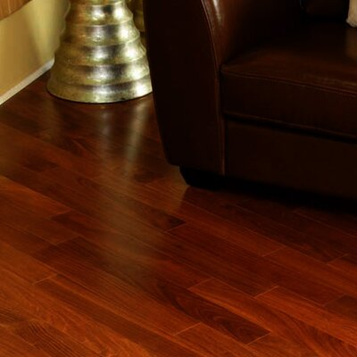 South Beach Exotics 5 Engineered Mahogany Hardwood Flooring in Natural