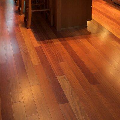 South Beach Exotics 5 Engineered Brazilian Cherry Hardwood Flooring in Natural