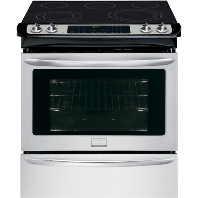 """30"""" Slide-in Electric Range Finish: Silver FGES3065PF"""