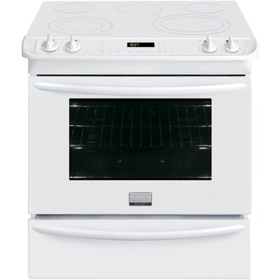 """30"""" Slide-in Electric Range Finish: White FGES3065PW"""