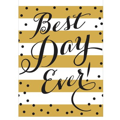 Best Day Ever Wedding Tablecloth 571699
