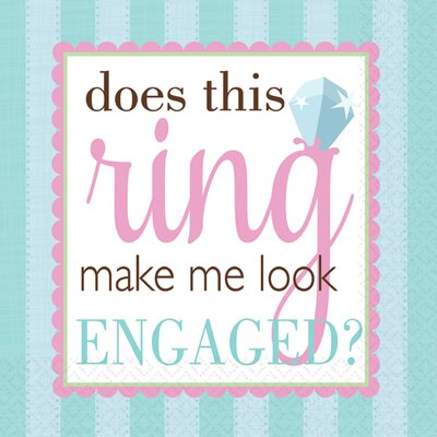 Engagement Lunch Napkin 519325