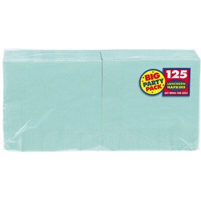 Everyday Big Party Napkin Color: Robins Egg Blue 610013.121